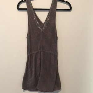 We the free by free people sweater tank top